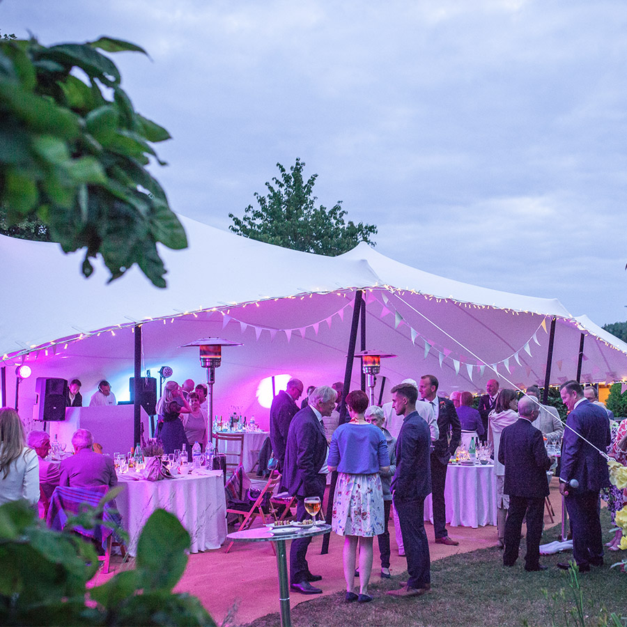 wedding outdoor tent suffolk